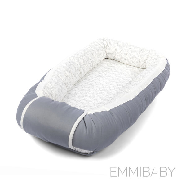 EMMIBABY Rock Grey Babynest