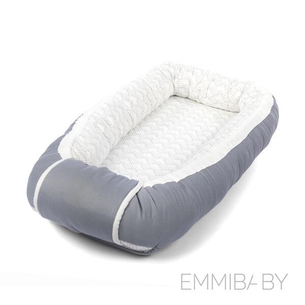 EMMIBABY Rock Grey Babynest
