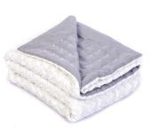 legetæppe, gråt tæppe, quiltet tæppe