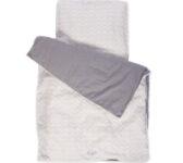 sengetøj grå